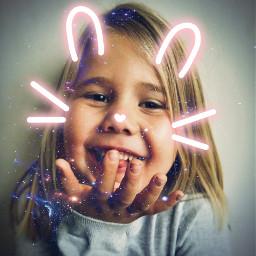 kid girl funny sweet beautiful freetoedit srccutemask cutemask