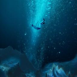 falling splash underwater bubbles ircelevating elevating