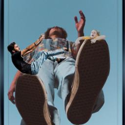 people man walking falling hangingon justforfun editbyme ircelevating elevating