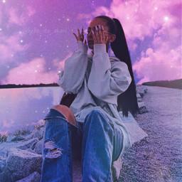 freetoedit glitter art editing space galaxy clouds purple purpletones pink madewithpicsart sparkle tumblr tumblrgirl style picsart papicks night lake sea summer holidays travel aesthetic aestheticedit