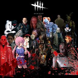 horror fnaf futurediary it deadbydaylight