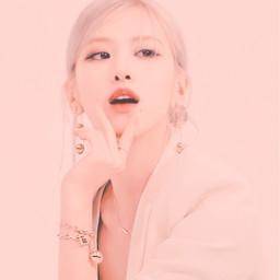 rosé aesthetic blackpink jennie lisa jisoo rose pinkaesthetic pink freetoedit