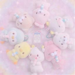freetoedit soft softcore babycore pink pastelpink pastelbackground cute kawaii kidcore grunge alternative baby plushies angel angelcore softbbybear
