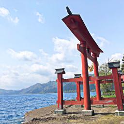 lake tazawa akita japan landscape architecture view temple pcmydreamdestination mydreamdestination