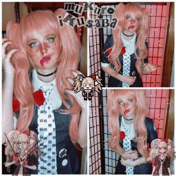 freetoedit junkoenoshima mukuroikusaba drv1 danganronpa cosplay dead zombie idk cosplayer game superhighschoolleveldespair sisters betrayed deeznuts weeblet101 yeet