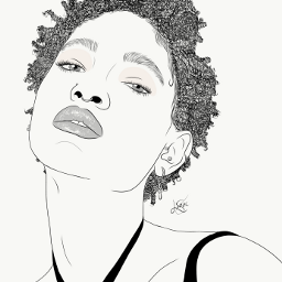 drawing outline sketch digitalart art outlineart digitaldrawing drawingart love creativity creative portrait girl willow smith willowsmith freetoedit