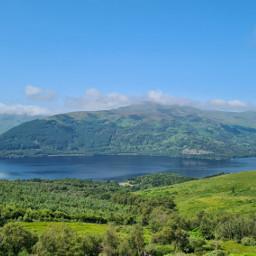 landscape nature photography colourful scotland lochlomond