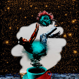 freetoedit 1stentry editedbyme coffee man photoedit art ircelevating elevating