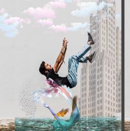 freetoedit 3rdentry photography editedbyme man mermaid ircelevating elevating