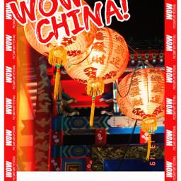 freetoedit heypicsart china wow wowchina travel travelposter poster lantern lanterns chineselanterns follow haveaniceday unsplash
