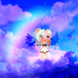 freetoedit angel gachalife interesting