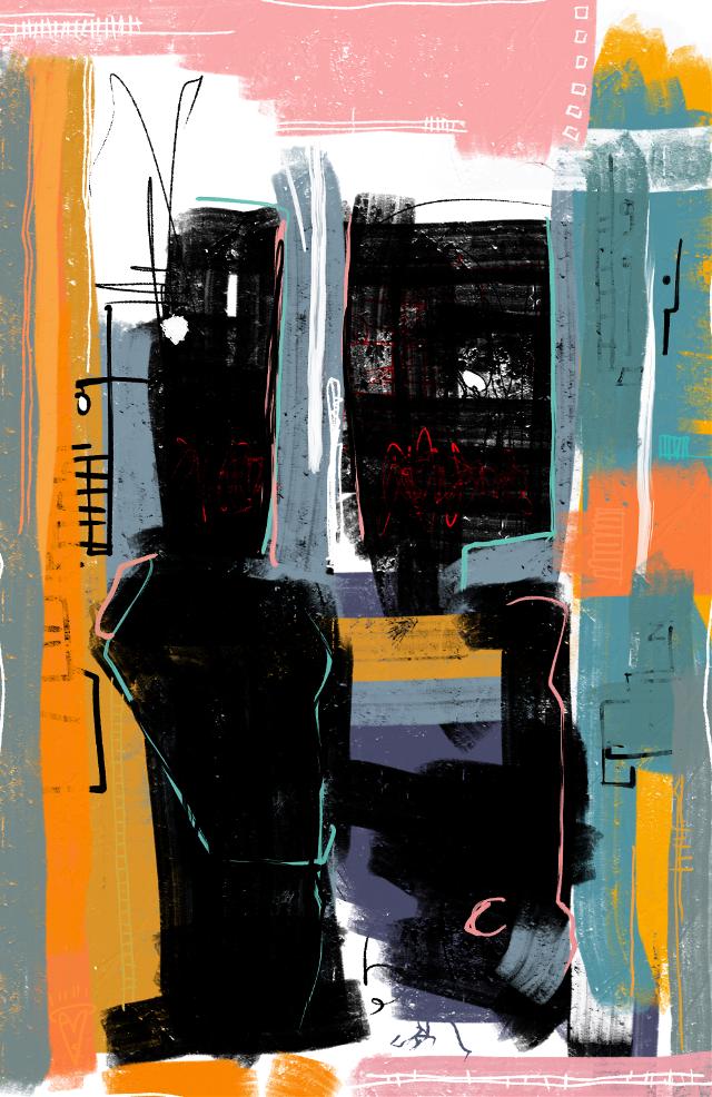 """Vacation Photos"" #sonnyleel #sonnythesaint #digitalpainting #painting"