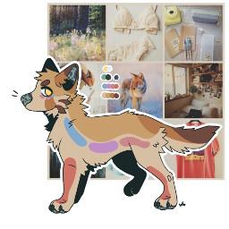 digitalart notmybase f2u f2ubase canine wolf moodboard custom moodboardcustom