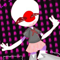 freetoedit japan japancountryhumans lol countryhumansjapan art countryhumans ibispaintx e pink anime eee countryhumansart