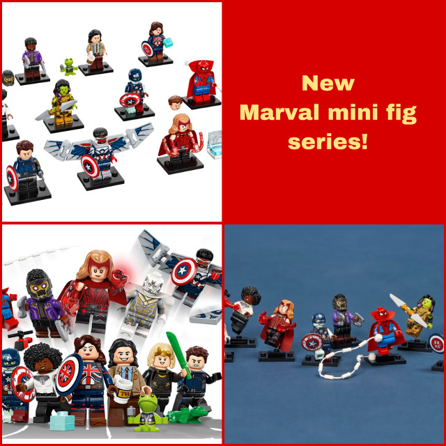 New marval minifig seris comeing soon! #marval #lego