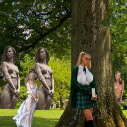 freetoedit girlsgirlsgirls statues