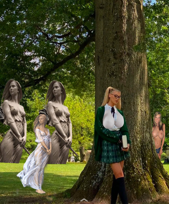 #girlsgirlsgirls #statues