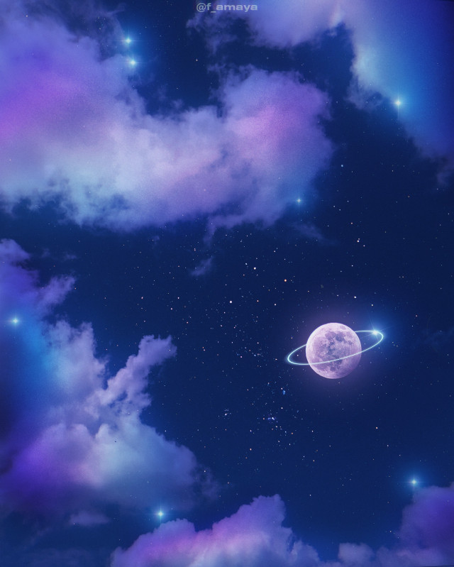 •𝐈 𝐥𝐢𝐤𝐞 𝐭𝐡𝐞 𝐧𝐢𝐠𝐡𝐭. 𝐖𝐢𝐭𝐡𝐨𝐮𝐭 𝐭𝐡𝐞 𝐝𝐚𝐫𝐤, 𝐰𝐞'𝐝 𝐧𝐞𝐯𝐞𝐫 𝐬𝐞𝐞 𝐭𝐡𝐞 𝐬𝐭𝐚𝐫𝐬•✨☁️🌖  -Stephenie Meyer  Happy sunday to all ❤   #sky #heaven #clouds #moon #ring #planet #night #stars #purple #purpleaesthetic #aesthetic #aestheticsky #aestheticwallpaper #aestheticedit #aesthetictumblr #galaxy #gacha #freetoedit #vaporwave #surreal #fantasy #beautiful #blue #background @picsart  #unsplash