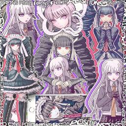 kyokokirigiri celestialudenburg danganronpa anime animeedit complex complexedit edit notfreetoedit donotremix interesting ily