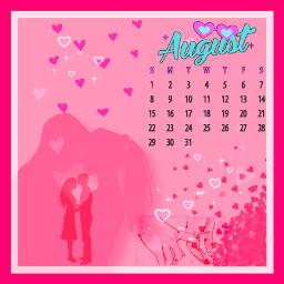 freetoedit love couple augustcalendar