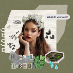 greenaesthetic green aesthetic aestheticedit collage plant paper doodle quotes tape freetoedit