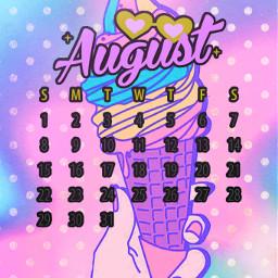 freetoedit summer srcaugustcalendar2021 augustcalendar2021