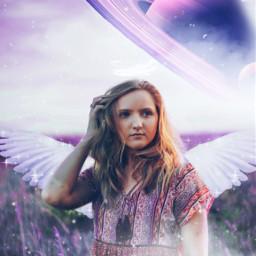 girl magic purple aestethic cool wonderful amazing myedits beautiful sky light mask stars freetoedit