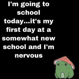 freetoedit nervous schoolsucks