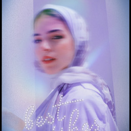 border blur zoom myedits girl woman cute purple night blue starrynight freetoedit