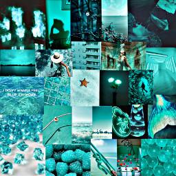 fundo background collage aesthetic tumblr darkteal verdeaguaescuro tealvibes mermaid freetoedit