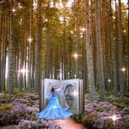 freetoedit remixit forrest story storytime flowers book