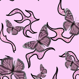 pink pinkaesthetic aesthetic softpink barbie butterflies pinkbutterflies butterfly pinkbutterfly pretty flames golfwang fire edgy pinkgoth gothic glitter sparkles cute lightpink lockscreen wallpaper babypink pinkandblack homescreen freetoedit