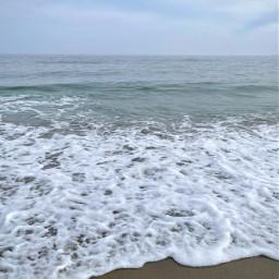 freetoedit ocean beach serenity summer meditate peacefulplace nature cloudyday
