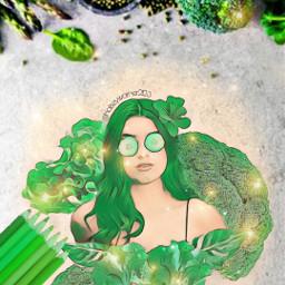 vegetables green girl pencilsketch pencil cucumber kitchen vegies ecfunveggies funveggies