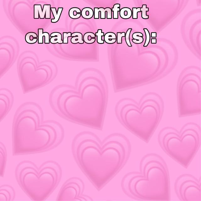 Meme template! #memetemplate #meme #template #comfortcharacters #memes #menememes #menememetemplate #hearts #pink