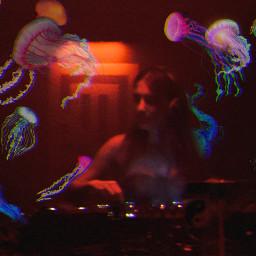 freetoedit freetoeditremix neon jellyfish cool happy cute dj mixing club pic nice quote lights remix makeawesome remixit remixme heypicsart picsart tiktok roblox adptme photography photooftheday