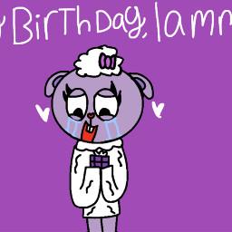 happybirthday htf lammy htflammy lammyhtf happytreefriendslammy lammyhappytreefriends meneuwu menesart gift fanart