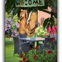 welcome garden summer gardenlife home homesweethome homedecor besthome moments landliebe landleben stille athome