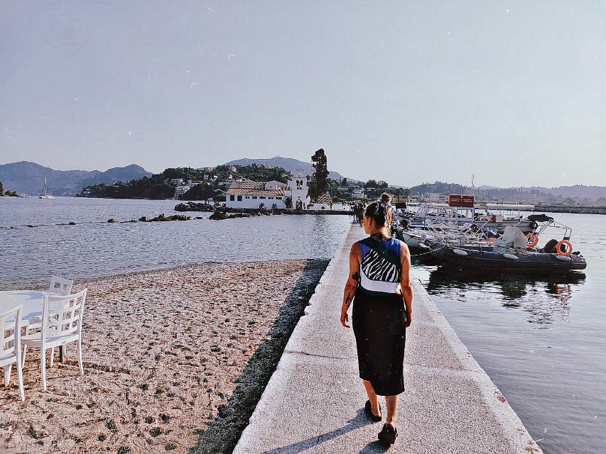 #greece #corfu #sea #summer #church