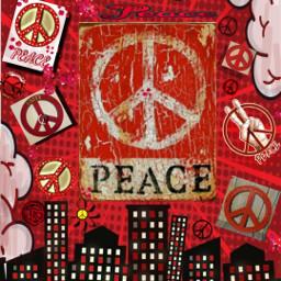 peace redpeace redaesthetic loveandpeace freetoedit