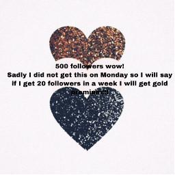 freetoedit 500 followers