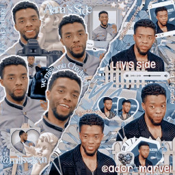 chadwickboseman wakandaforever ripchadwickboseman marvel blackpanther marvelcomplex tchalla freetoedit