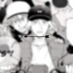 freetoedit renga rekixlanga langaxreki reki rekikyan langahasegawa langa manga spacer blur blurred arrow black white anime edit sk8 sk8theinfinity right