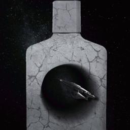 space perfume edt eaudespace blackhole spaceship enterprise scifi perfumery surrreal popart ircmypersonalbrandedbottle mypersonalbrandedbottle