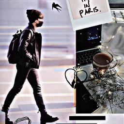 freetoedit jeonjungkook airportfashion bangtan bts