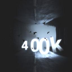 400k madewithpicsart thankyou