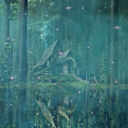 freetoedit glitter smoke forest magical girl house challenge eccolorfulsmoke colorfulsmoke