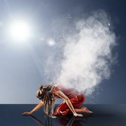 fog lighteffect reflection shadow bluebackground picsartchallenge freetoedit eccolorfulsmoke colorfulsmoke