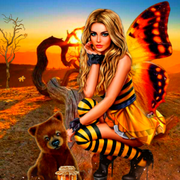 butterflies landscape sun byme myart challenge picsarteffects girl freetoedit picsart eccolorfulsmoke colorfulsmoke