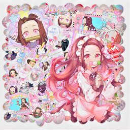 freetoedit nezuko demonslayernezuko animegirl animeedit nezukokamado
